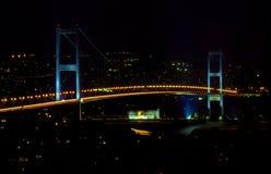 Passerelle de Bosphorus Images libres de droits