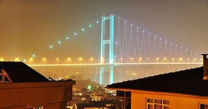 Passerelle de Bosphorus Photographie stock libre de droits