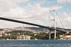 Passerelle de Bosphorus Photos stock