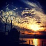 Passerelle de Bosphorus Photo libre de droits