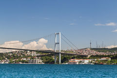 Passerelle de Bosphorus, Istanbul, Turquie Photos libres de droits