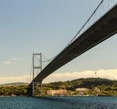 Passerelle de Bosphorus, Istanbul, Turquie Images stock