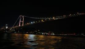 Passerelle de Bosphorus, Istanbul, Turquie Image stock