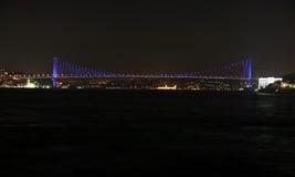 Passerelle de Bosporus, Istanbul-Turke Photos libres de droits