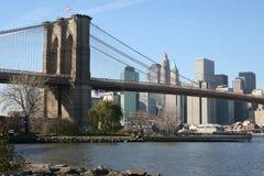 Passerelle de Brooklyn images stock