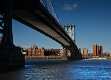 Passerelle de Brooklyn Photographie stock libre de droits