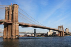 Passerelle de Brooklyn Photos stock