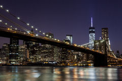 Passerelle de Brooklyn 10 Photos libres de droits