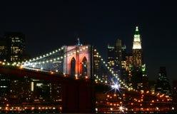 Passerelle de Brooklyn photos stock