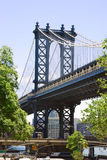 Passerelle de Brooklyn Photo libre de droits