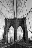 Passerelle de Brooklyn Photos libres de droits