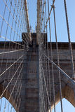 Passerelle de Brooklyn, New York photos stock