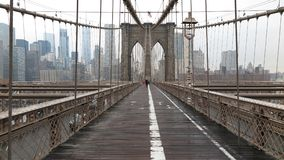 Passerelle de Brooklyn New York City Photo libre de droits