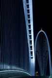Passerelle de Calatrava Image stock
