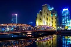 Passerelle de Changhaï Photo libre de droits