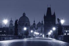 Passerelle de Charles (Prague) photo libre de droits