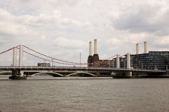 Passerelle de Chelsea, Londres Photo libre de droits
