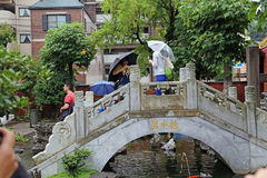 Passerelle de chinois traditionnel Image libre de droits