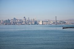 Passerelle de compartiment d'Oakland Image stock