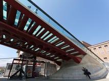 Passerelle de constitution à Venise Photographie stock libre de droits