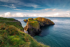 Passerelle de corde de Carrick-a-Rede Photo stock