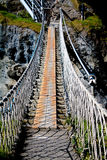 Passerelle de corde de Carrickarede Photographie stock libre de droits