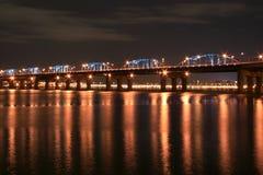 Passerelle de fleuve de Han Photo libre de droits