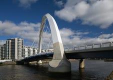 Passerelle de Glasgow photos libres de droits