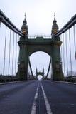 Passerelle de Hammersmith le matin Images stock