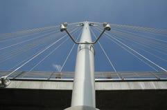 Passerelle de Hungerford à Londres Photographie stock