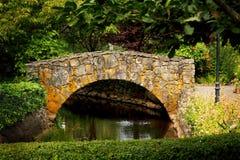 Passerelle de jardin Photos stock