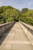 Passerelle de Kingsgate - Durham, Royaume-Uni Images libres de droits