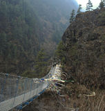 Passerelle de l'Himalaya Images stock