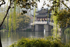 Passerelle de la Chine Photo libre de droits