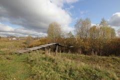 Passerelle de la suspension Bridge Images libres de droits