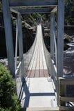 Passerelle de la suspension Bridge Photos libres de droits