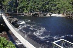 Passerelle de la suspension Bridge Photographie stock libre de droits