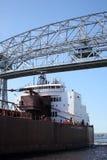 Passerelle de levage aérienne - Duluth, manganèse Images stock