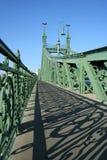 Passerelle de liberté, Budapest Photos stock