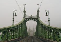 Passerelle de liberté, Budapest Image libre de droits