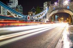Passerelle de Londres Photos stock