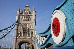 Passerelle de Londres Photo stock
