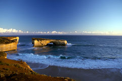 Passerelle de Londres, route grande d'océan, Australie photos libres de droits