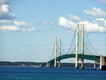 Passerelle de Mackinac Photos stock