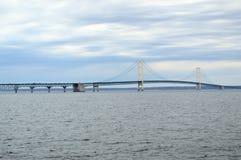 Passerelle de Mackinac au Michigan image libre de droits