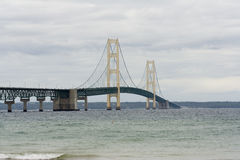 Passerelle de Mackinaw Photo stock