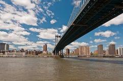 Passerelle de Manhattan à New York City Image libre de droits
