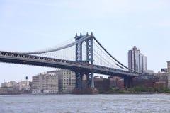 Passerelle de Manhattan à New York City Photos stock