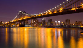 Passerelle de Manhattan Images stock