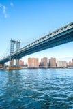 Passerelle de Manhattan Photo libre de droits